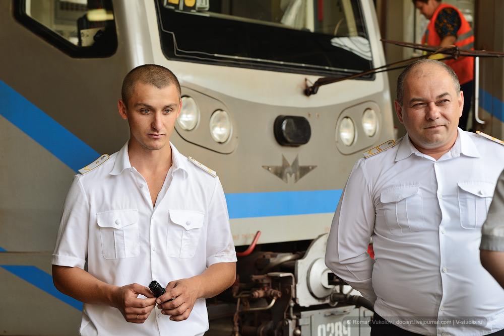 Конкурс машинистов Московского метро
